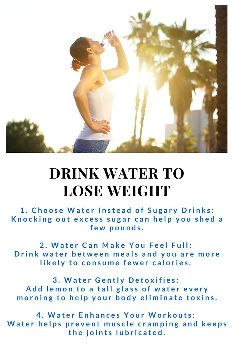 drink water to lose weight