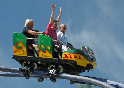 rollercoasters health risk