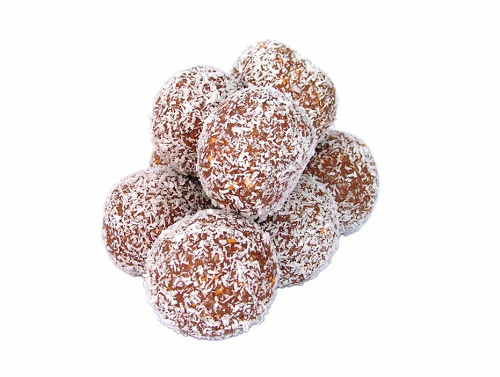 Almond Coconut Chocolate Bites