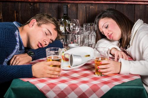 sleep after eating