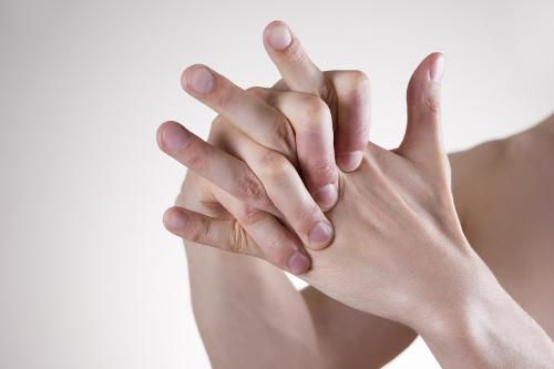 broken knuckle