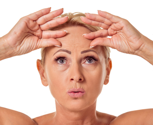 Get Rid Of Forehead Wrinkles Naturally