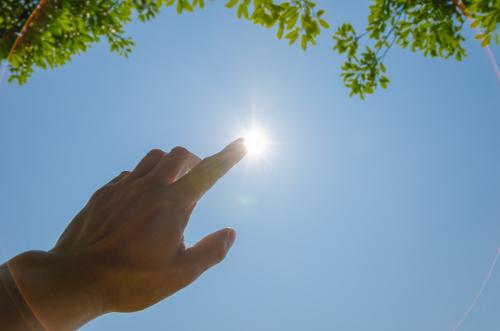 Sun poisoning