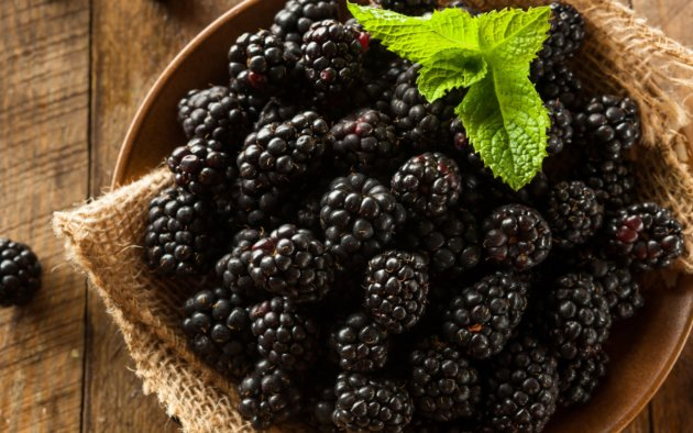 Blackberries benefits
