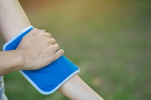 Hyperextended Elbow
