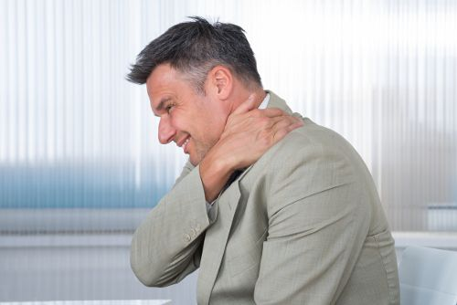 neck pain on left side