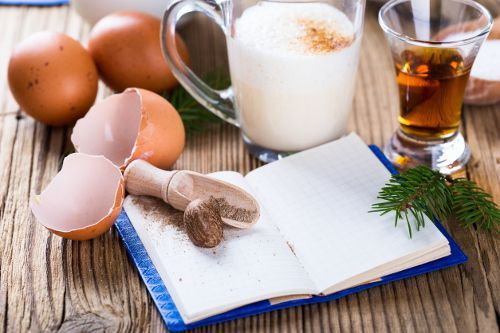 Eggnog christmas